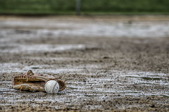 "Week 20 of 52 Theme: ""Sports"" Rain Delay - HDR"