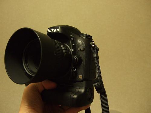 D600 + MB-D14 + 50mm f/1.8G