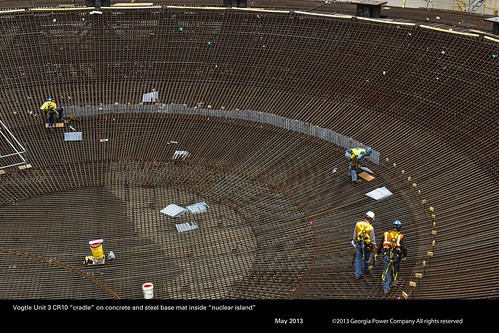 Vogtle Reactor 3 and 4 Construction Photos - May 2013