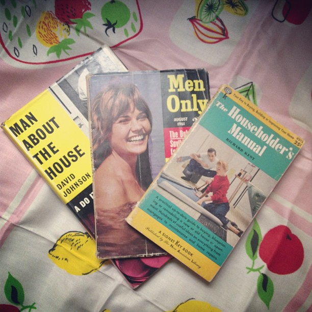 Some Midcentury books. (£5 for all three)