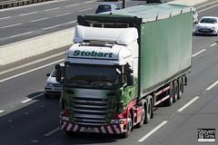 Scania R440 6x2 Tractor - PN12 WLB - Rachel Ann - Eddie Stobart - M1 J10 Luton - Steven Gray - IMG_7734