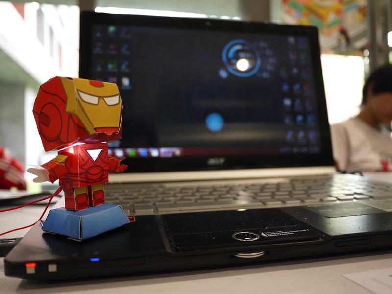 Iron Man Weather Station