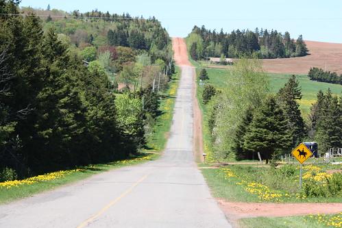 road canada view queens pei southgranville pleasantvalley