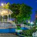 Jardín Hidalgo de noche por Antonio Pérez1