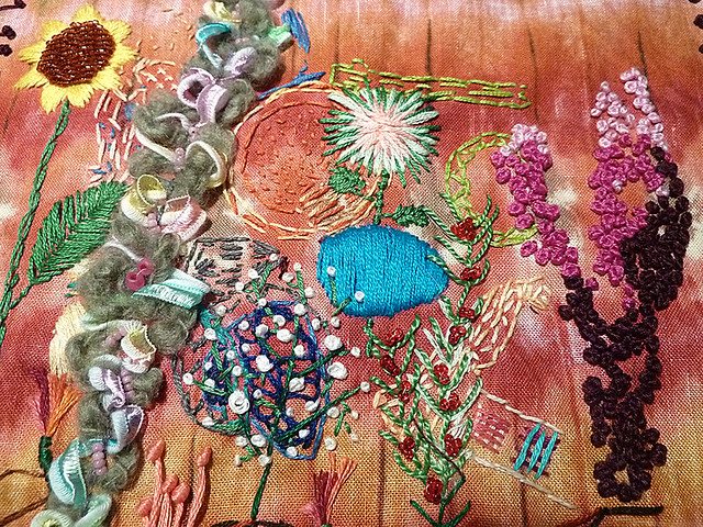 Fiber Art Embroidery Reclamation | Flickr - Photo Sharing!