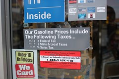 Our Gasoline Prices Include The Following Taxes…
