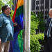 Pride Flag Raised over City Hall