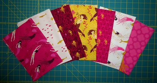 Heather Ross Mendocino Fuchsia Fat Quarters