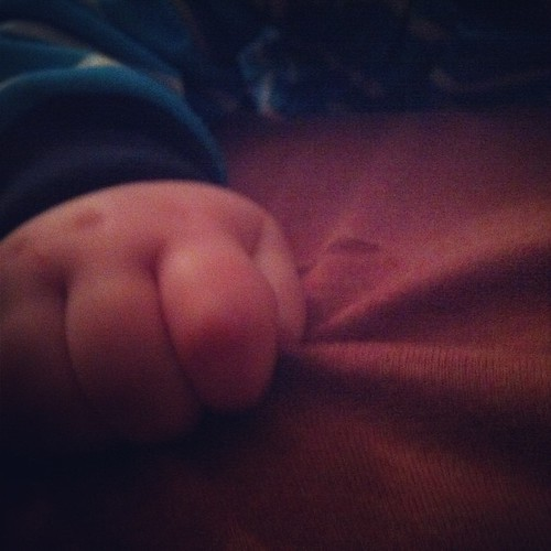 Hold me closer, tiny gripper. #30daysof day 5 #nathanchronicles