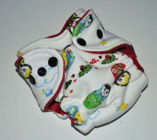 Bumstoppers Newborn Russian Dolls Hybrid Fitted **New Style**