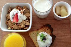 The Breaky Board at Tall Timber cafe in Prahran