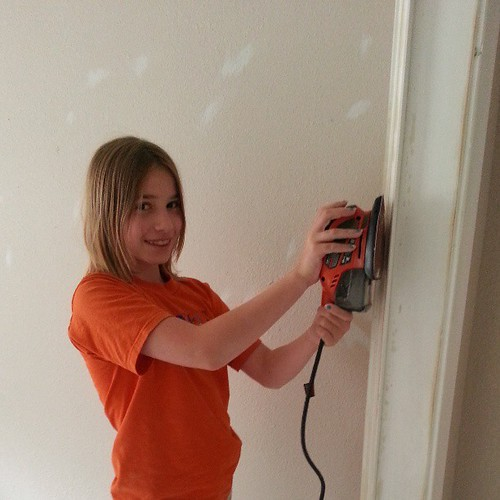 That's my girl... Power tools FTW!