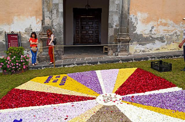 Casa Monteverde, Corpus Christi, Flower Carpets, La Orotava, Tenerife