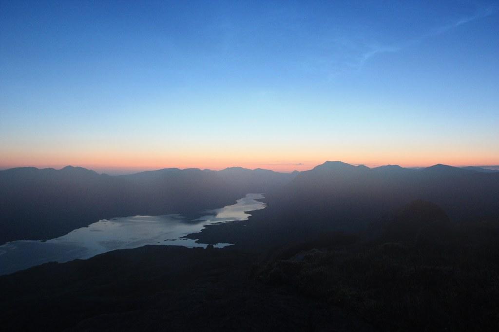 Pre-dawn over Loch Etive
