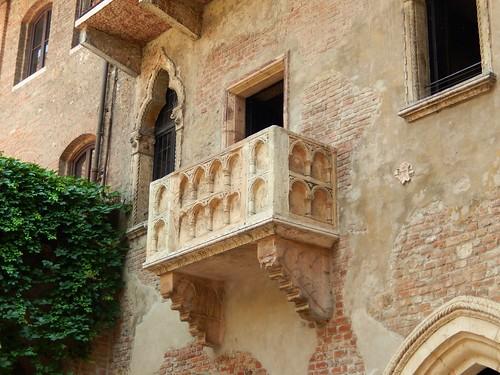 Oh Romeo!  Juliet's Balcony In Verona  ......(170/365) by Irene_A_