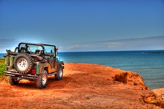 Pedro Vidaurre posted a photo:riding a jeep with my father, nice place to go, the ocean was beautiful!