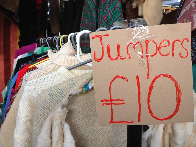 Jumpers at Portobello Road