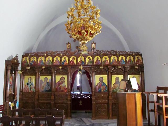 Profitis Ilias church interior