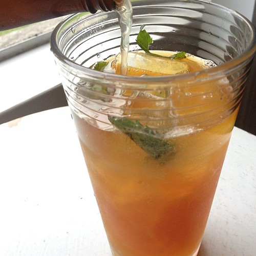Dark & Stormy w/ mint