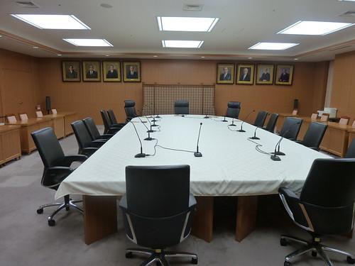 会計検査院 会議室
