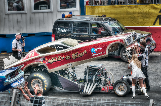 Classic Funny Car: 71 Dodge Charger Classic Funny Car #2