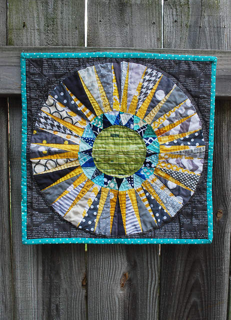 new york beauty mini quilt