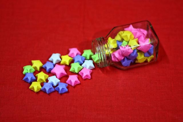 Origami Lucky Stars