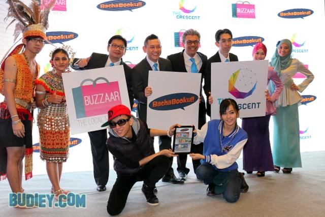 Celcom Lancar Portal Bachabooku, Buzzaar & The Crescent