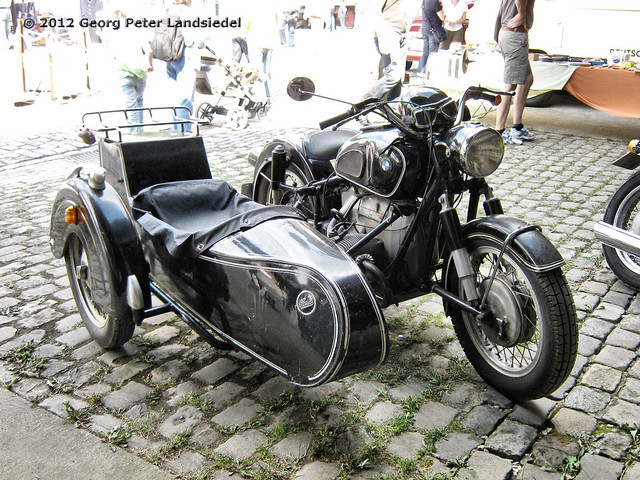 motorrad mit beiwagen bmw witten zeche nachtigall 34 flickr photo sharing. Black Bedroom Furniture Sets. Home Design Ideas