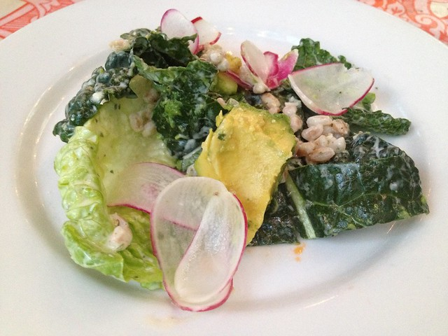Lacinato kale and little gem lettuces - Ragazza