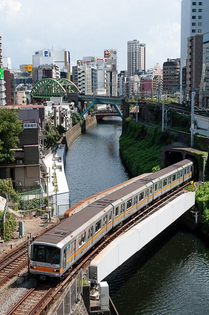 東京メトロ銀座線01系 01-136F 丸ノ内線内試運転