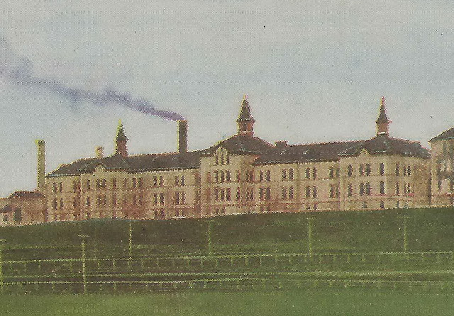 Sw Ionia Mi 1910 Michigans Oldest Prison The Ionia Michiga