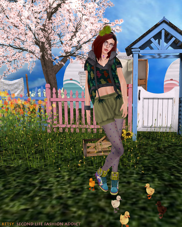 Getting My Ducks In A Row: NEW Blog Post @ Second Life Fashion Addict