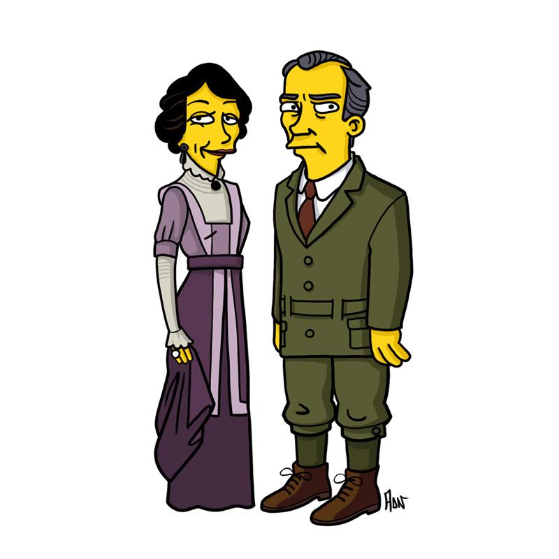 Cora & Robert Crawley