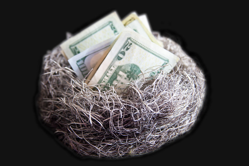 Nest Egg of Cash