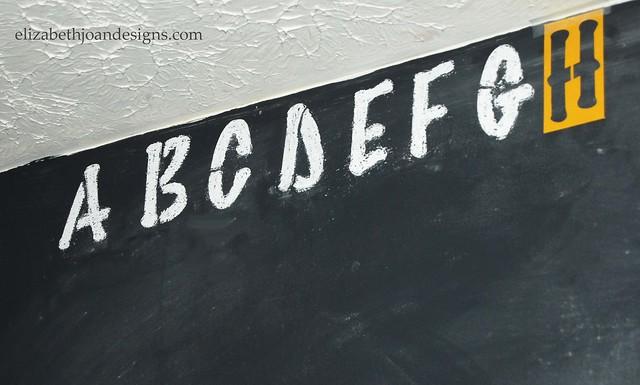 Chalkboard Accent Wall 4