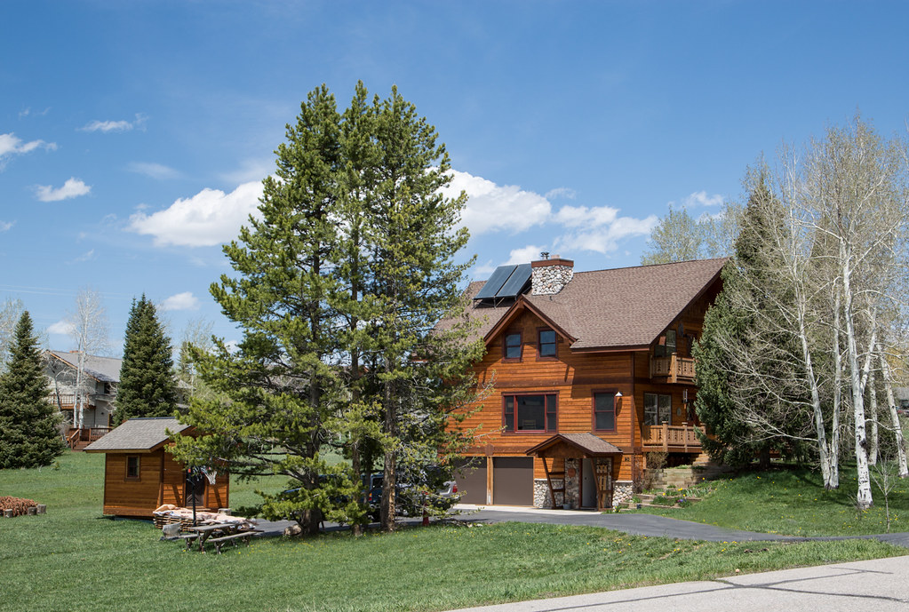 steamboat home for sale, fish creek falls