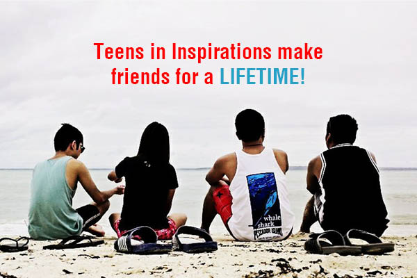 Teens in addiction recovery making friends