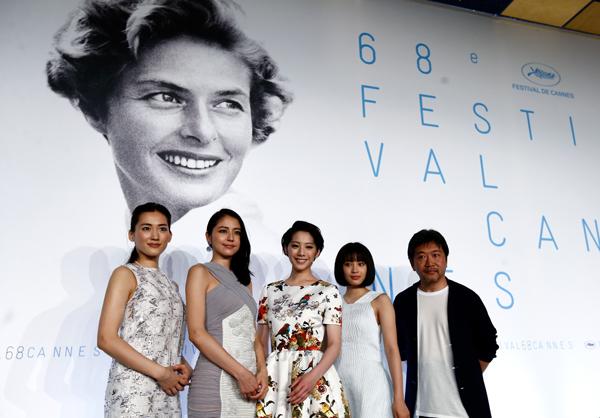 映画『海街diary』カンヌ映画祭