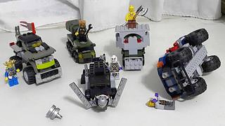 【玩具人凹司釘投稿】無雷 《瘋狂麥斯:憤怒道》LEGO MOC自製衝鋒飛車隊!