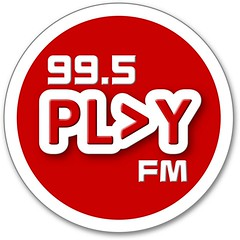 99.5 PLAY FM logo
