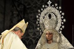 La Virgen de la Paz es coronada canónicamente por el Arzobispo de Sevilla