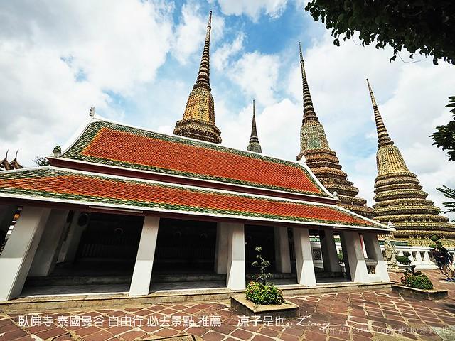 臥佛寺 泰國曼谷 自由行 必去景點 推薦 63