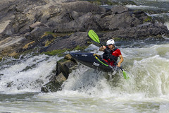 Kayaker at Great Falls