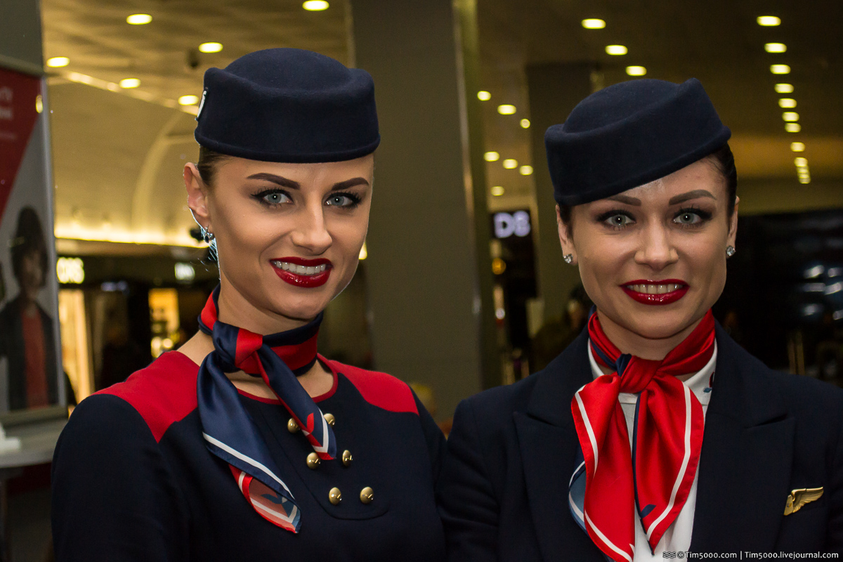 Самые красивые стюардессы!