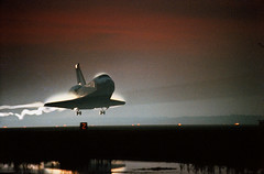STS-80 Land