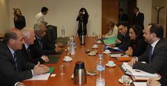 Σύσκεψη για την προώθηση αναπτυξιακών έργων