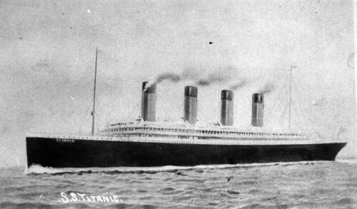 Titanic (courtesy of the State Library of Queensland)
