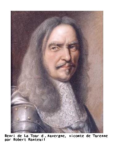 Henri de La Tour d'Auvergne, vicomte de Turenne par Robert Nanteuil