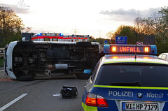Verkehrsunfall A66 Mainzer Straße 16.04.12